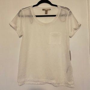 NWT Forever21 white T-shirt